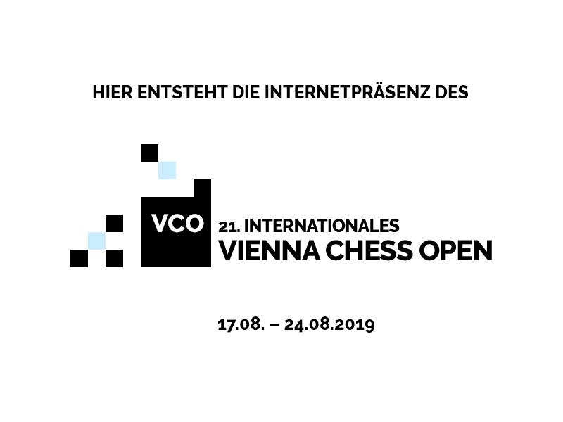 Vienna Chess Open 2019 Baustelle