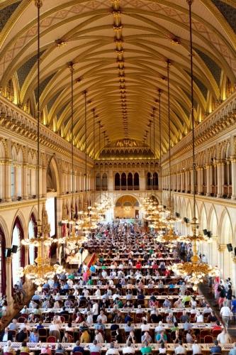 Wiener Rathaus: Großer Festsaal